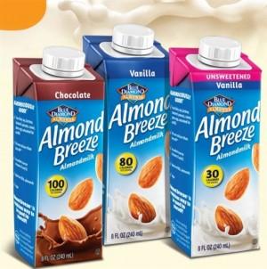 Almond Breeze, Vanilla, Unsweetened, 8 Oz