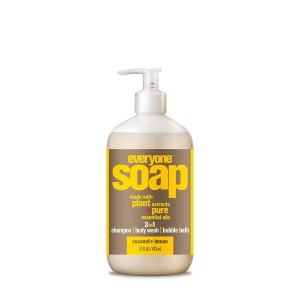 Everyone 3-in-1 Soap, Coconut & Lemon, 16 oz Bottle