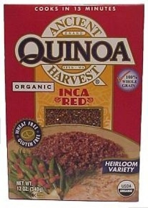 Ancient Harvest Organic Quinoa, Inca Red [12 Packs]
