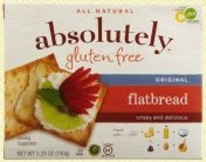 Absolutely Gluten Free Flatbreads, Original (Case of 12)