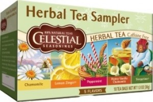 Celestial Seasonings Herbal Tea Sampler