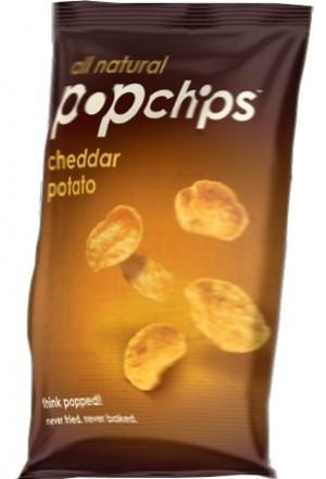 Popchips, Cheddar Cheese, 0.80 Oz Bag