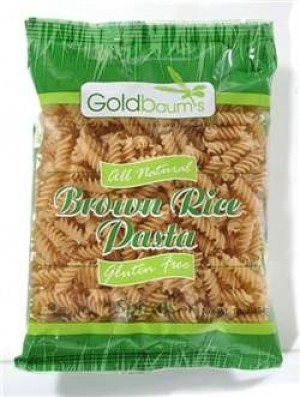 Goldbaum's Gluten Free Brown Rice Pasta, Spirals