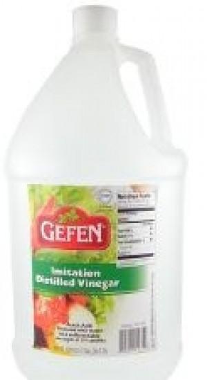 Gefen Imitation Distilled Vinegar, 1 Gallon Bottle (Case of 4)