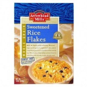 Arrowhead Mills Rice Flakes Sweetened Cereal