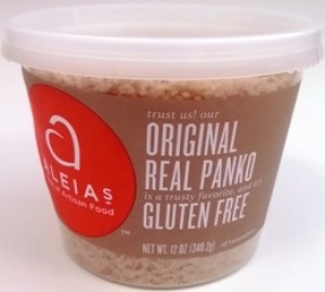 Aleia's Gluten Free Panko Crumbs, Original (Case of 12)