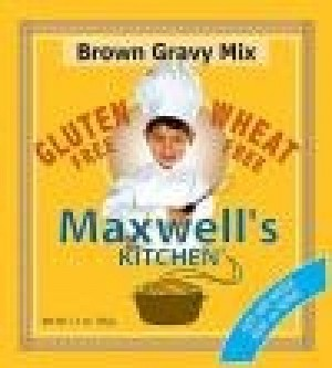 Maxwell's Kitchen Gluten Free Brown Gravy Mix