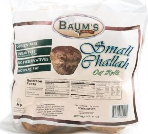Baum's Gluten Free Small Challah, 11 Oz. (Case of 6)