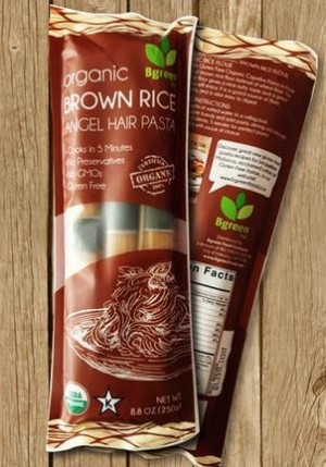 Organic Brown Rice Angel Hair Pasta, 8.8 Oz. (Case of 12)