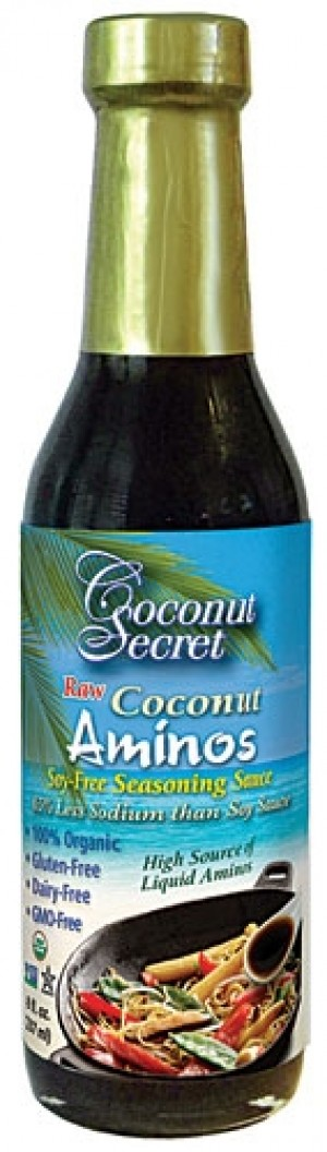 Raw Coconut Aminow Soy Free Seasoning Sauce, 8 oz