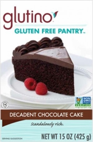 Gluten Free Pantry Decadent Chocolate Cake Mix (6 Pack)