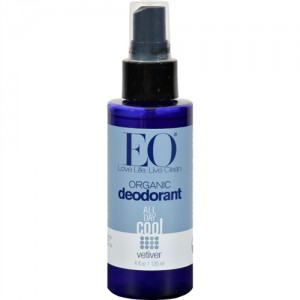 EO® Organic Deodorant Spray, Vetiver - 4 fl oz