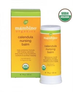 Mambino Organics Calendula Organic Nursing Balm , 0.63 oz