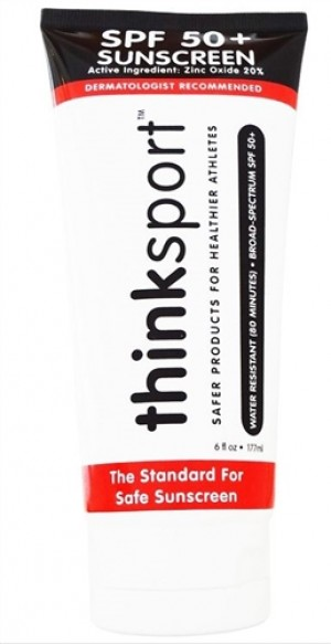 Thinksport Suncreen, SPF 50+, 6 fl oz (Family Size) [2 Pack]