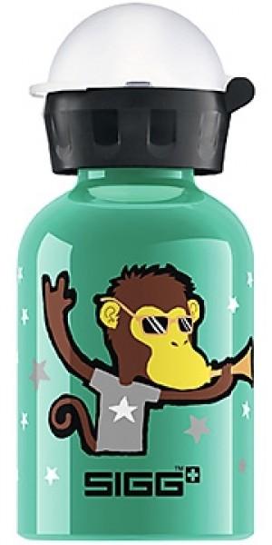 Sigg Water Bottle, Go Team Monkey Elephant, .3 Liters