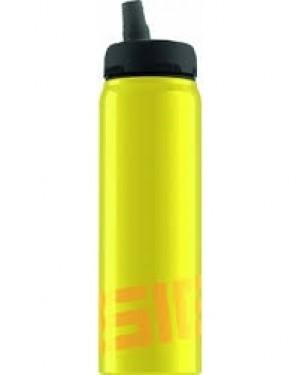 Sigg Water Bottle, Nat Yellow, .75 Liters