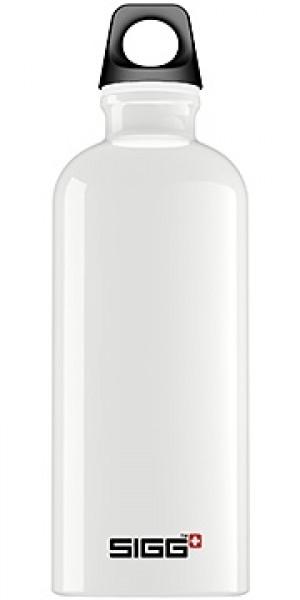Sigg Water Bottle, Traveller White, 1 Liter