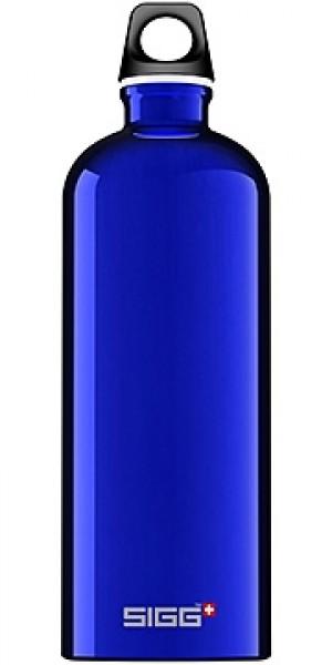 Sigg Water Bottle, Traveller Dark Blue, 1 Liter