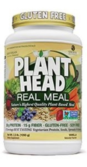 Genceutic Naturals Plant Head Real Meal - Vanilla - 2.3 lb