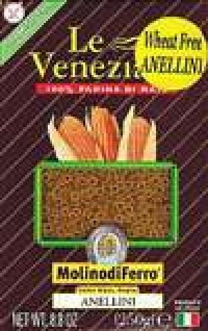 Le Veneziane Corn Pasta Anellini