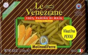 Le Veneziane Corn Pasta Penne Rigate