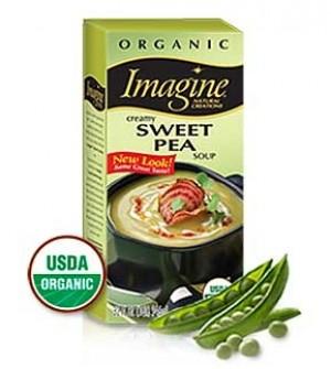 Imagine Organic Creamy Sweet Pea Soup