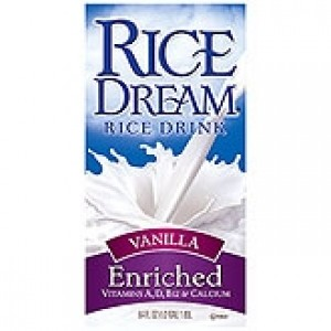 Rice Dream Enriched, Vanilla, Drink Box