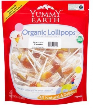 Yummy Earth Family Size Organic Drops Pouch, Mango Tango Drops