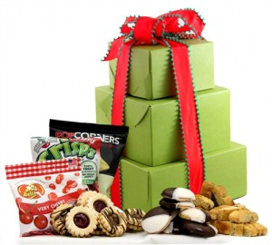 Holiday Delight! Gift Tower