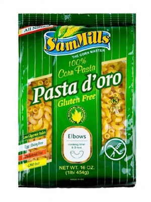 Sam Mills Pasta D'Oro, Elbows (Case of 12)
