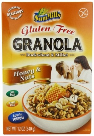 Sam Mills GF Granola, Honey & Nuts
