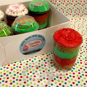 Gluten Free Cupcake Cups, Christmas (6 Pack)