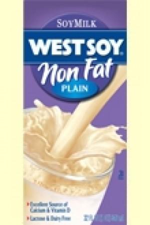 Westsoy NonFat Soymilk, Plain