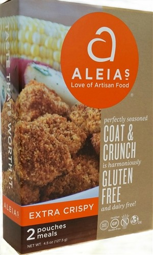 Aleia's Gluten Free Coat & Crunch Extra Crispy, 4.5 Oz [Case of 8]