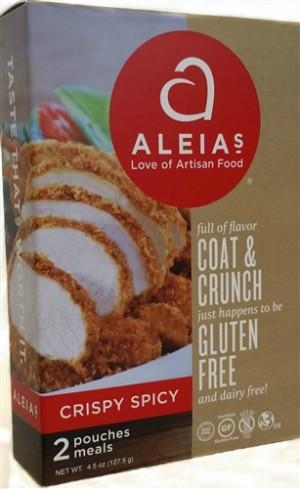 Aleia's Gluten Free Coat & Crunch, Crispy Spicy 4.5 Oz Box [Case of 8]