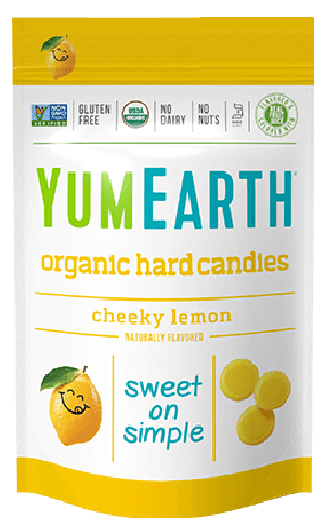 Yummy Earth Organic Candy Pouch, Cheeky Lemon Drops