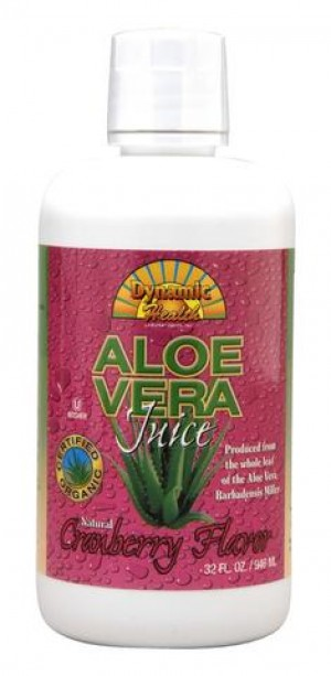 Dynamic Health Fruit Liquid Supplement, Aloe Vera Cranberry