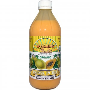 Dynamic Health Juice Concentrate, Papaya Puree