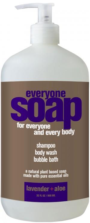 EO® EveryOne 3-in-1 Liquid Soap, Lavender and Aloe - 32 fl oz