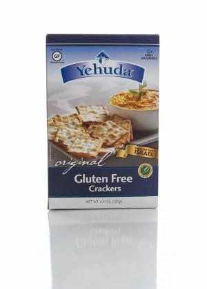 Yehudah Gluten Free Matzo Crackers, Original (Case of 12)