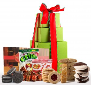 Holiday Delight! Deluxe Gift Tower - Super Sized!