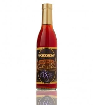 Kedem Marsala Cooking Wine, 12.7 Oz Bottle (Case of 12)