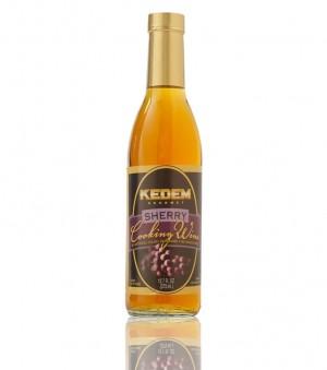 Kedem Sherry Cooking Wine, 12.7 Oz Bottle (Case of 12)