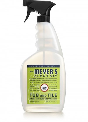 Mrs. Meyer's Clean Day Tub and Tile Clean, Lemon Verbena, 33 oz