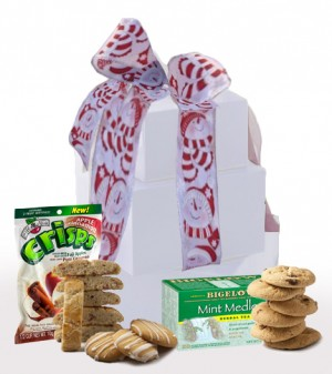 Let it Snow! Gluten Free Gift Tower