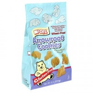 Gluten Free Arrowroot Animal Cookies [Case of 12]