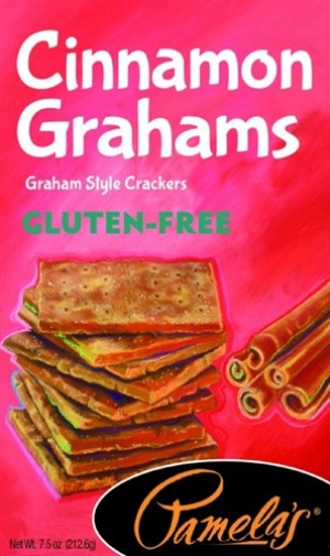 Pamela's Gluten Free Graham Style Crackers, Cinnamon, 7.5 Oz [6 Pack]