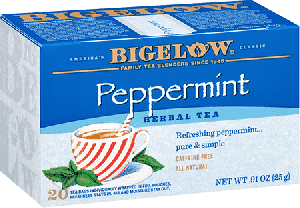 Bigelow Tea, Peppermint Herb Tea