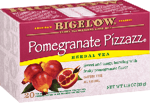 Bigelow Tea, Pomegranate Pizzazz Herb Tea