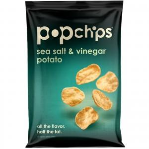 Popchips, Sea Salt Vinegar, 5 Oz Bag